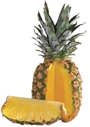 Gegrilde ananas