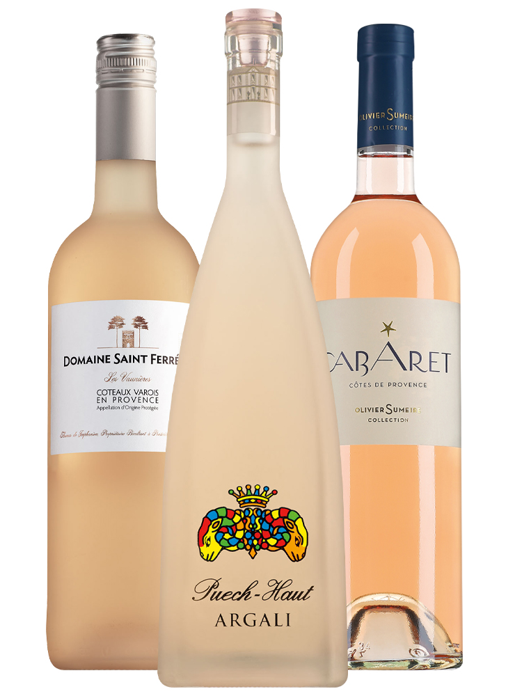 Wijnpakket top 3 rosé wijnen