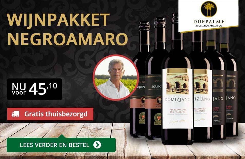 Wijnpakket Negroamaro