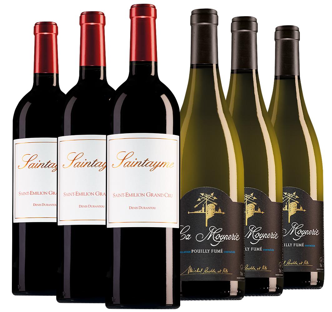 Wijnpakket bijzondere wijnen maart (2x3 flessen)