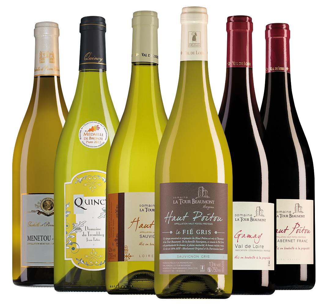 Wijnpakket Loirewijnen (6 flessen)