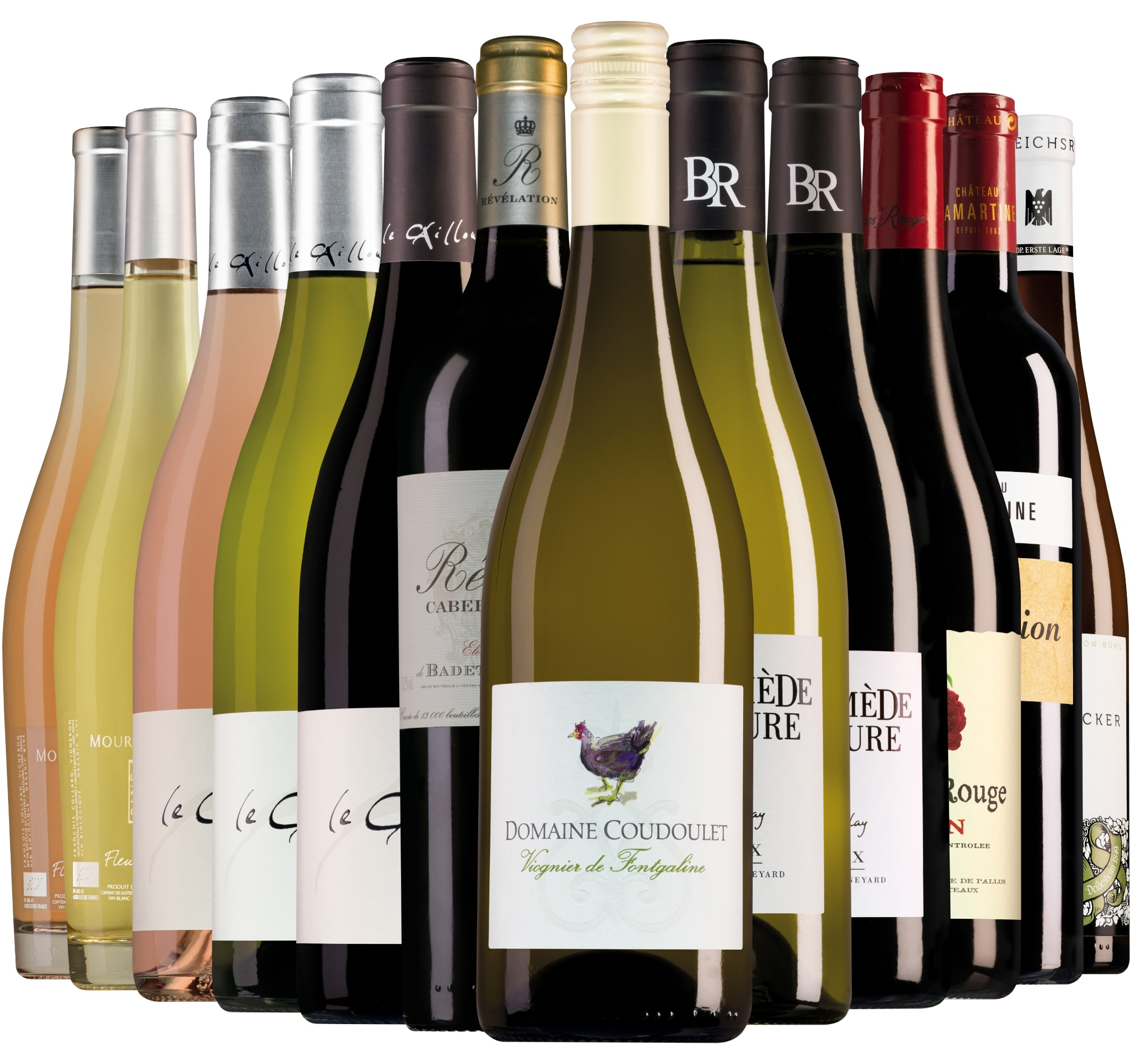 Wijnpakket Wijnbericht mei (12 flessen)