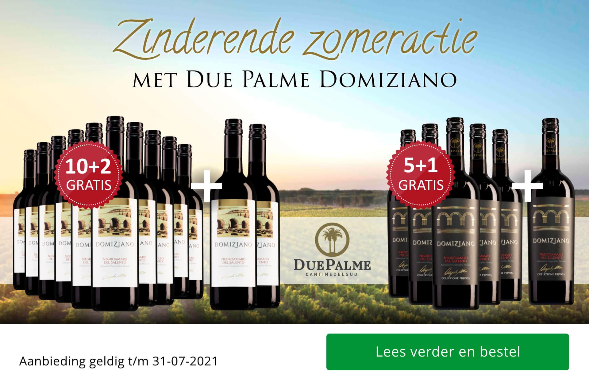 Zinderende zomeractie met Due Palme Domiziano